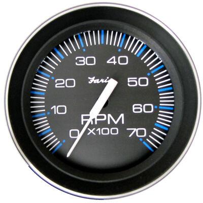 "Faria 4"" Coral Series Tachometer, 7,000 RPM Outboard"