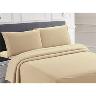 Posh Home RV Collection Softest Sheets Ever 4-Piece Set, Bunk, Tan