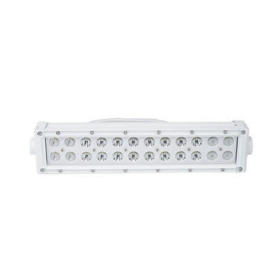 New - 10.5inch Marine Grade Dual Row Straight Light Bar with 72-Watt 24  x 3W High Intensity CREE LEDs