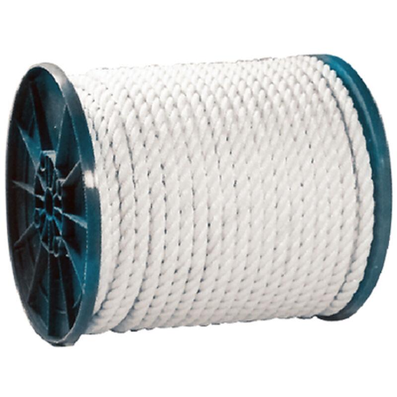 "Seachoice 3/8"" 3-Strand Twisted Nylon Rope Spool image number 1"