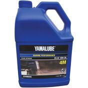 Yamaha Yamalube 4M 4-Stroke Outboard Engine Oil, Gallon