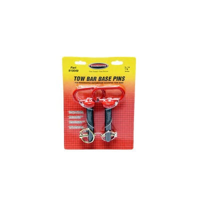 "Roadmaster Tow Bar Base Pins, 3/4"" dia., pair"