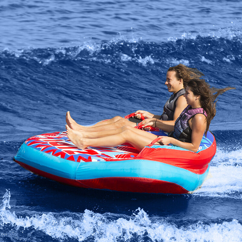 Liquid Force Zip 2-Person Towable Tube image number 4