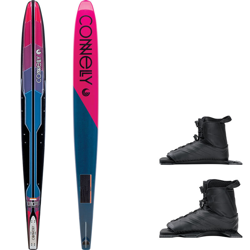 Connelly Women's Concept Slalom Waterski With Double Tempest Bindings image number 1