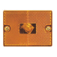 Optronics Square Reflector Trailer Marker/Clearance Light, Amber