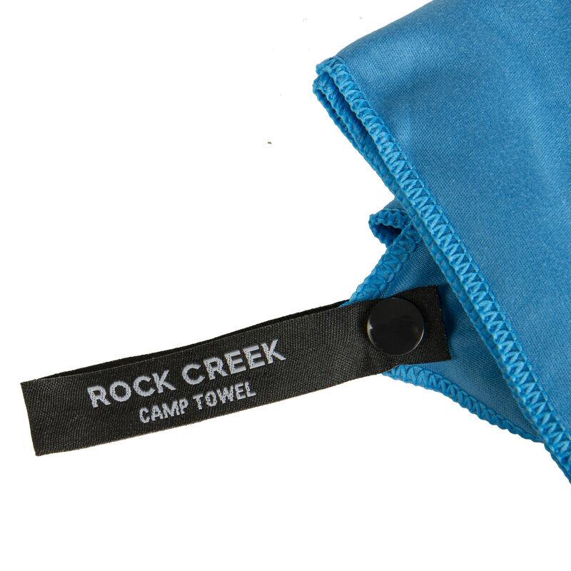 Rock Creek Blue Microfiber Camp Towel, Medium image number 5