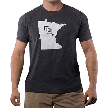 13 Fishing Onyx State Minnesota Tee