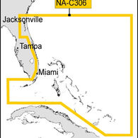 C-MAP NT+ Wide Map, Florida And The Bahamas