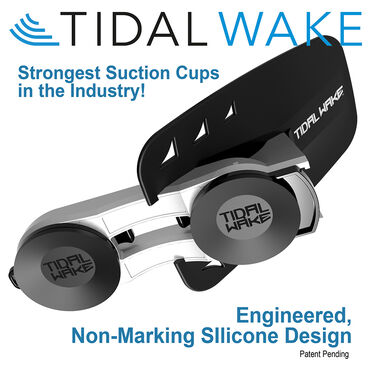 Tidal Wake XLR8 Wake Shaper, Red