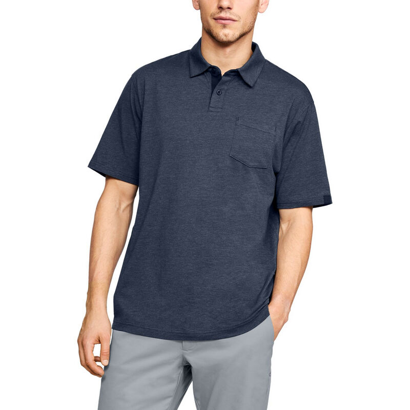 Under Armour Men's Charged Cotton Scramble Polo image number 3