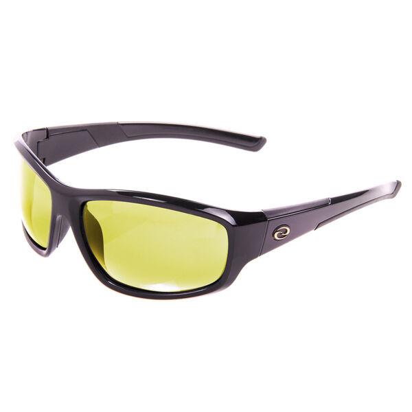Strike King S11 Bristol Sunglasses - Shiny Black Frame with Cloud/Low-Light Lens