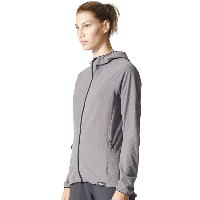 Adidas Women's Terrex Tracerocker Hooded Fleece Jacket