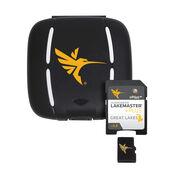 Humminbird LakeMaster Plus Chart MicroSD/SD Card, Great Lakes