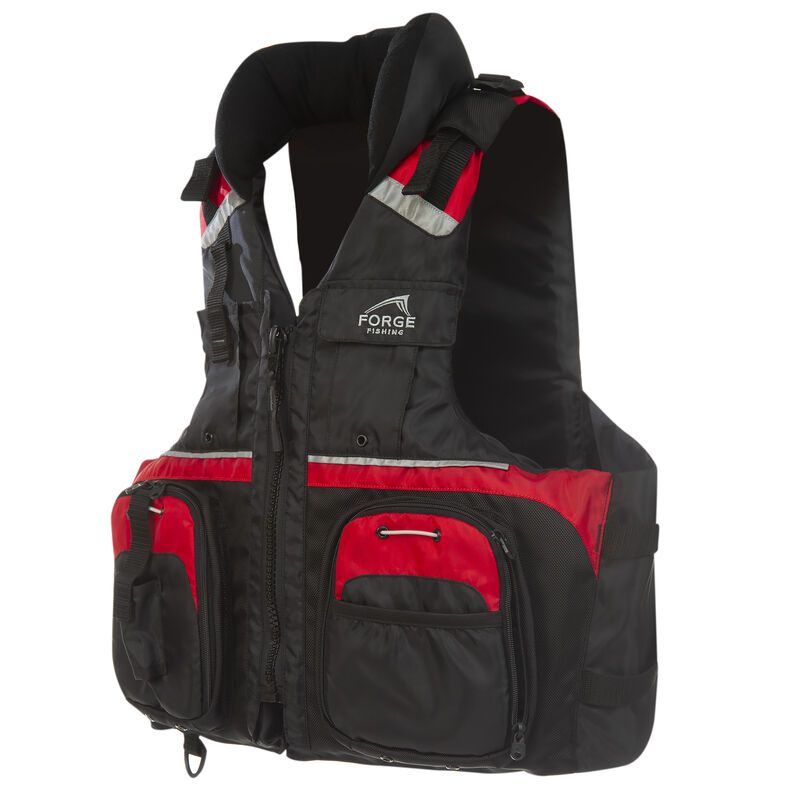 Forge Fishing Deluxe Fishing Vest image number 2