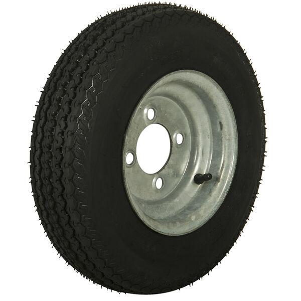 Tredit H188 4.80 x 8 Bias Trailer Tire, 4-Lug Standard Galvanized Rim