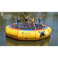 Island Hopper 17' Bounce-N-Splash Water Bouncer
