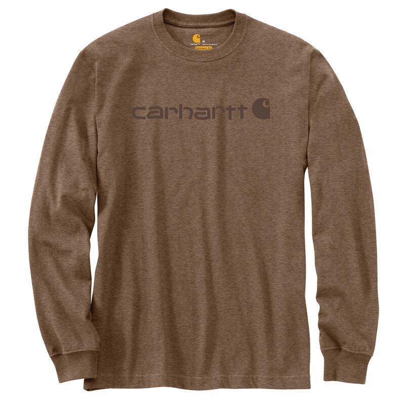 Carhartt Men's Long-Sleeve Logo Tee image number 2