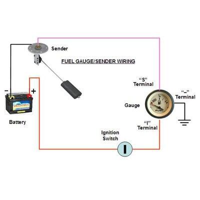 Universal Electric Sending Unit For Gasoline