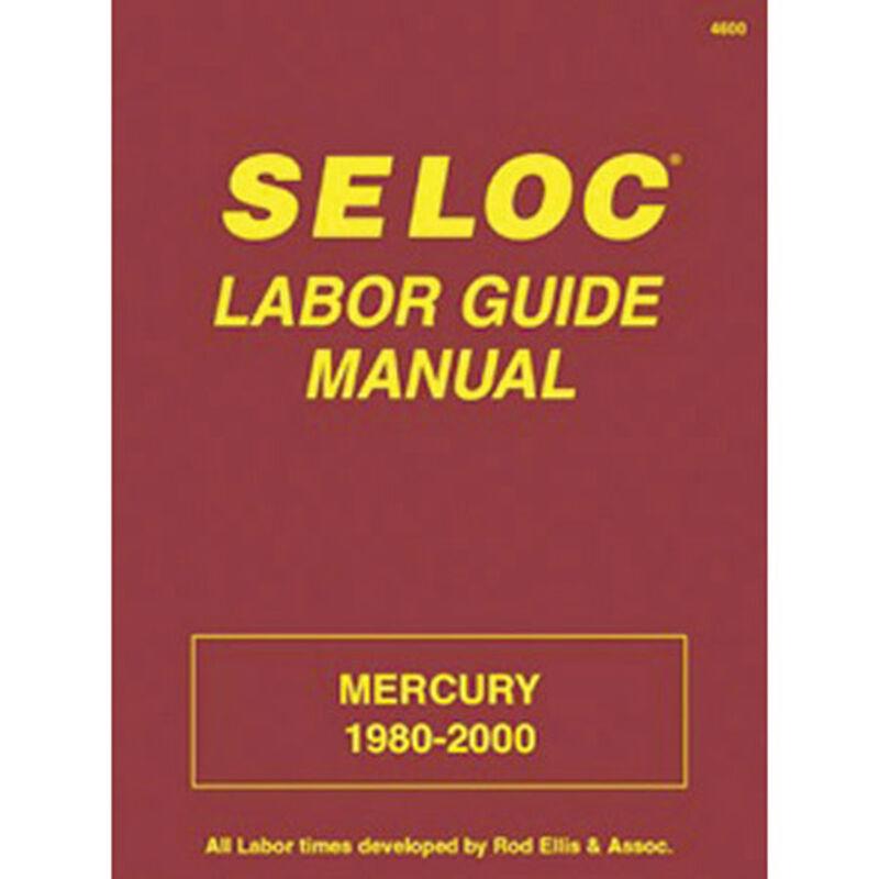 Sierra Seloc Labor Manual For Mercury Engine, Sierra Part #18-04600 image number 1