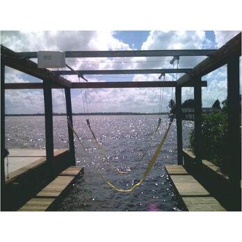Lunmar Steel-Mount 4,000-lb. Capacity Boat Sling Lift