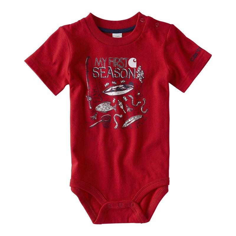 Carhartt Infant Boys' My First Season Bodysuit image number 1