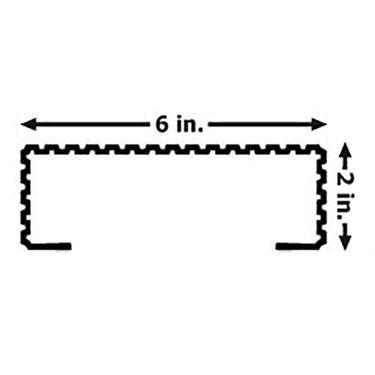 Caliber Bunk Wrap Kit For 2 Quot X 6 Quot X 24 Bunks Gray