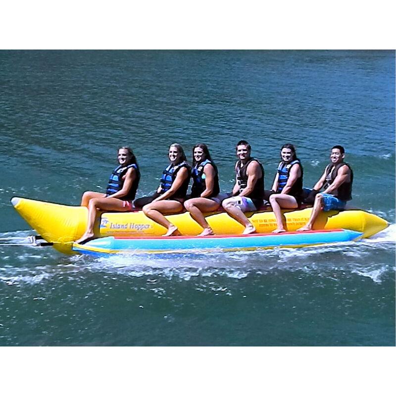 Island Hopper 6-Person Towable Banana Boat image number 1