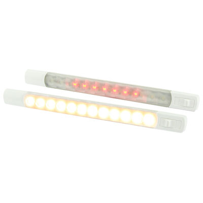 Hella Marine LED Surface Strip Light With Dual Switch (Color + Warm White Light)