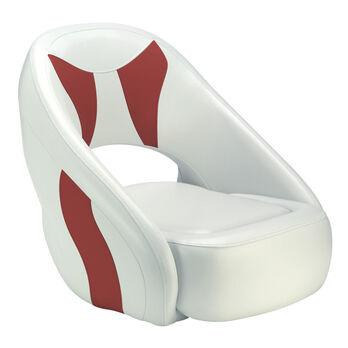 Attwood Avenir Fully Upholstered Seat, White Base