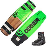 O'Brien Fade Wakeboard With GTX Bindings