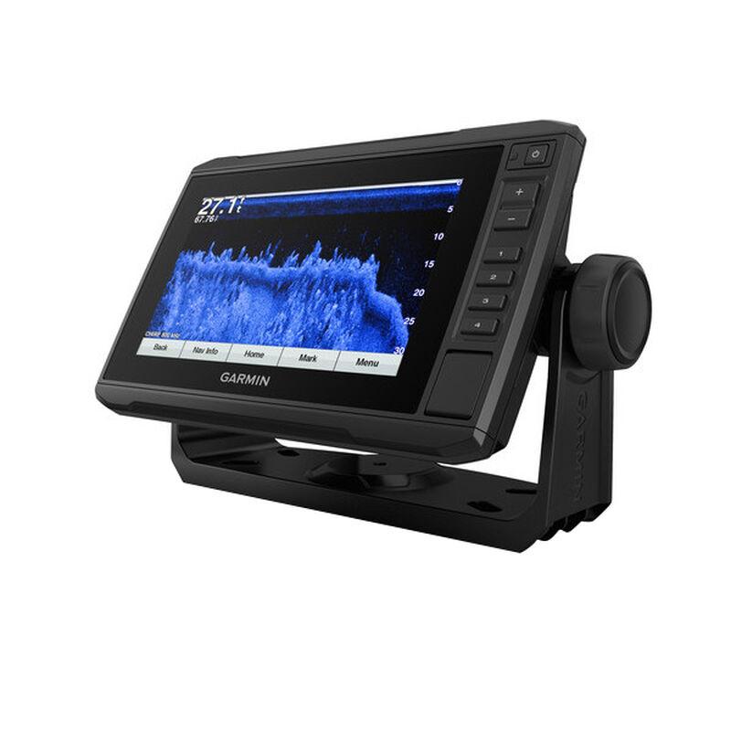 Garmin ECHOMAP Plus 73cv Chartplotter with GT22 Transducer image number 2