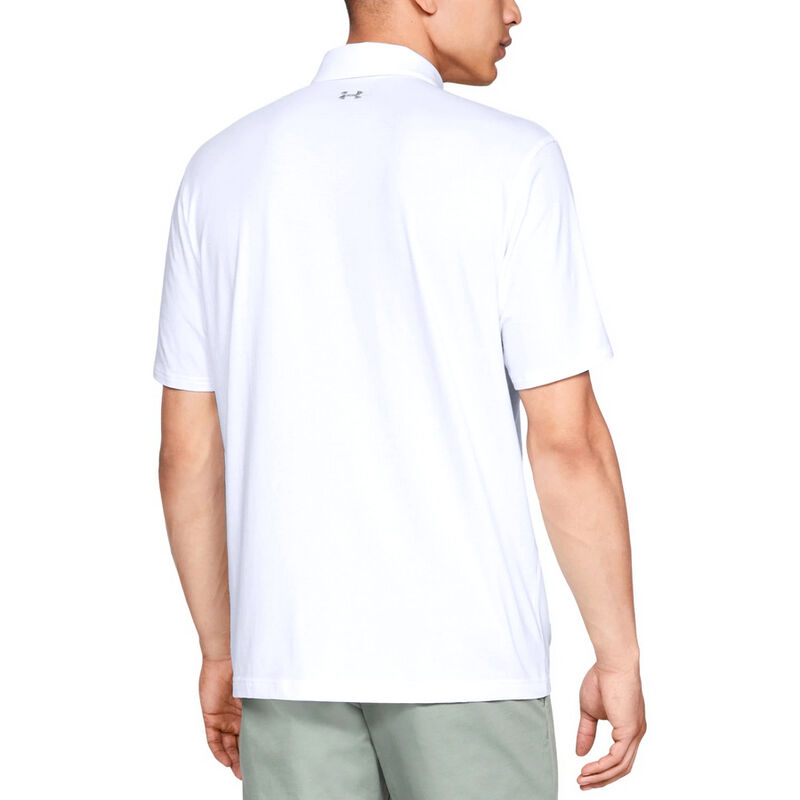 Under Armour Men's Charged Cotton Scramble Polo image number 14