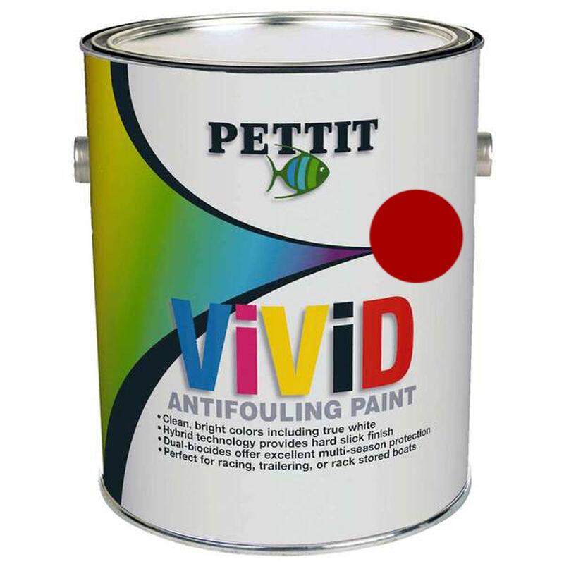 Pettit Vivid Free Red Paint, Gallon image number 1