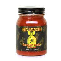 Original Juan Da' Bomb Scorpion Garlic Salsa 15.5oz