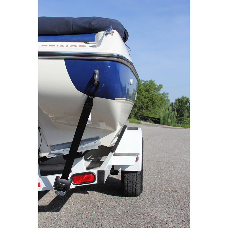 BoatBuckle Retractable Transom Tie-Down System image number 2