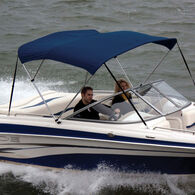 """Shademate Bimini Top Sunbrella Fabric and Boot Only, 3-Bow 5'L, 32""""H, 73""""-78""""W"""
