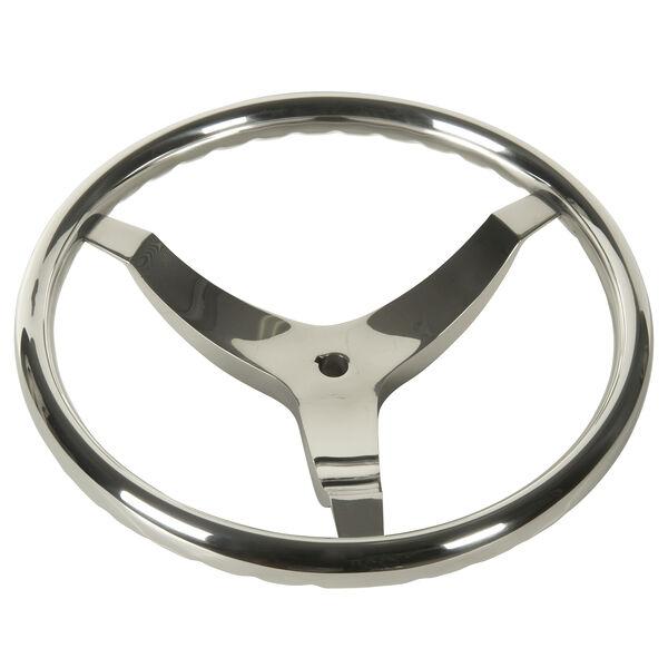 "Schmitt Vision FX 13-1/2"" Stainless Steel Steering Wheel"