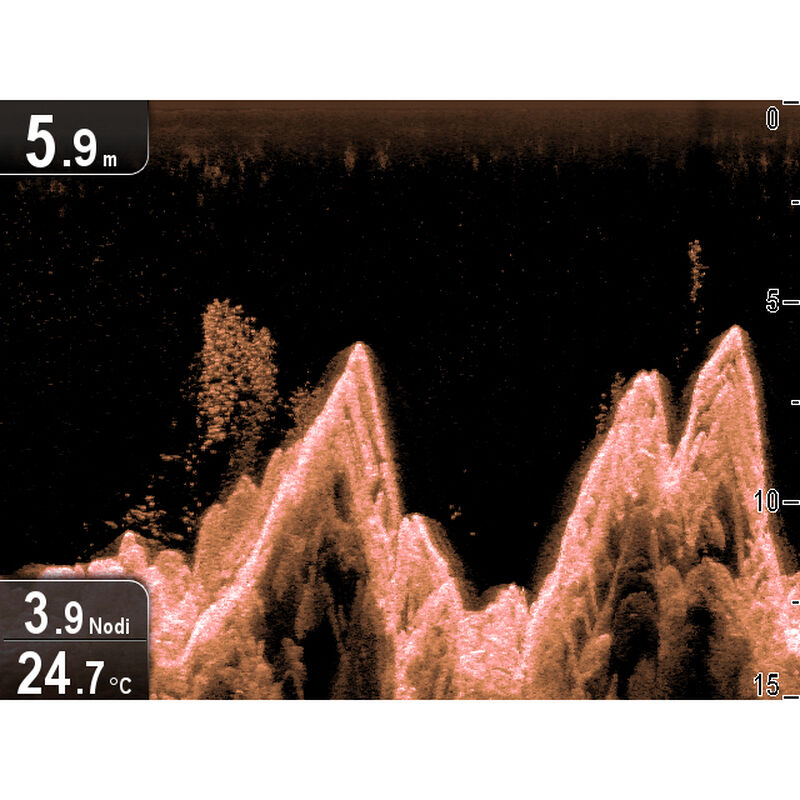 Raymarine Dragonfly 5 DVS With Dual-Channel CHIRP DownVision Sonar image number 2