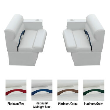 Toonmate Premium Pontoon Furniture Package, Front Group Package E