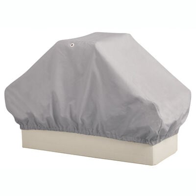 Overton's Back-To-Back Boat Seat Cover - Gray Imperial