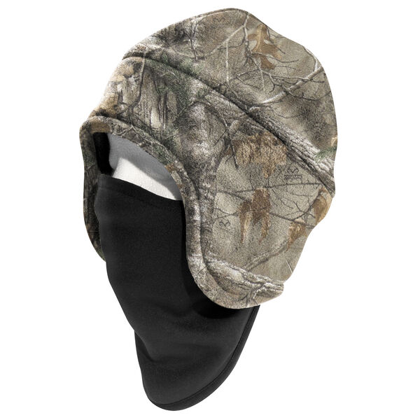 Carhartt Men's Camo Fleece 2-In-1 Headwear