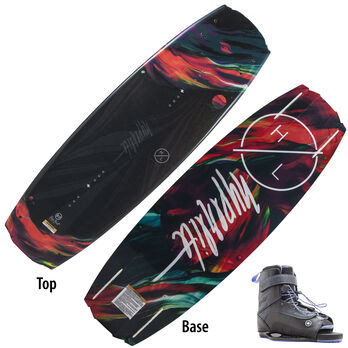 Hyperlite Maiden Wakeboard With Blur Bindings