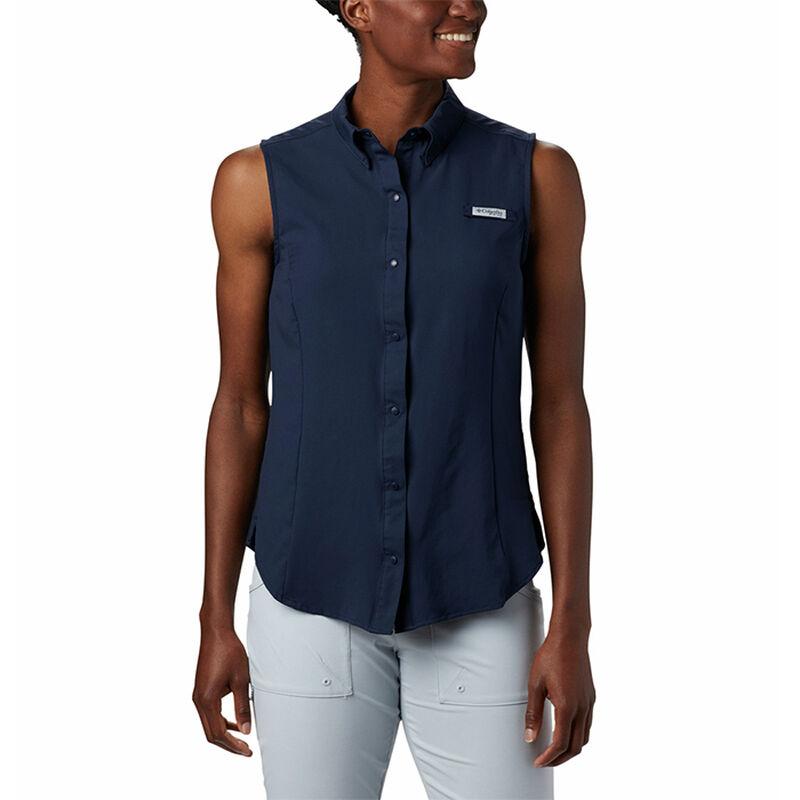 Columbia Women's PFG Tamiami Sleeveless Shirt image number 3