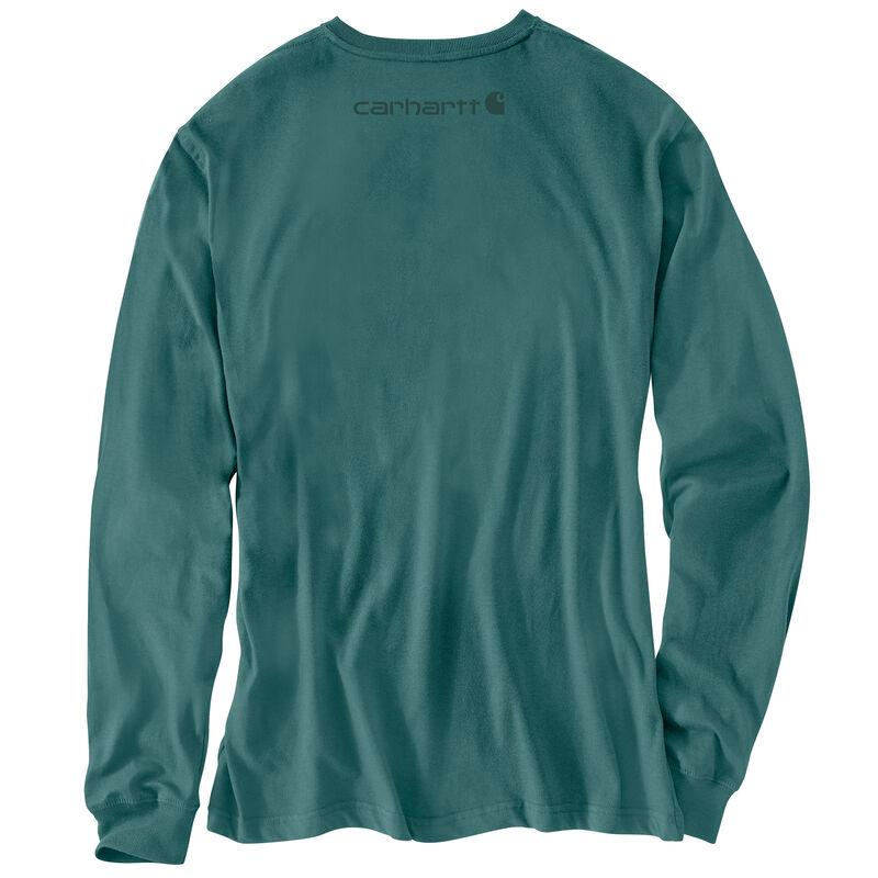 Carhartt Men's Long-Sleeve Logo Tee image number 9