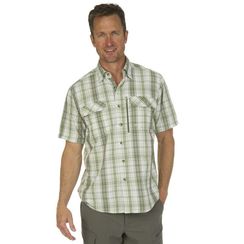 Nepallo Men's Trophy Quick-Dry Plaid Short-Sleeve Shirt image number 2