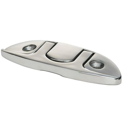 Whitecap 6'' Stainless Steel Folding Cleat