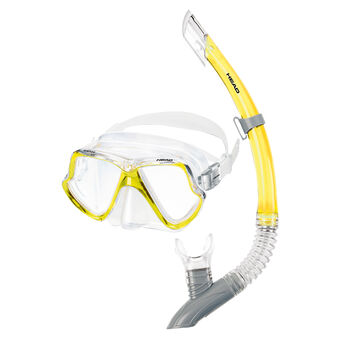 Head Dolphin Mask/Splash Snorkel Set