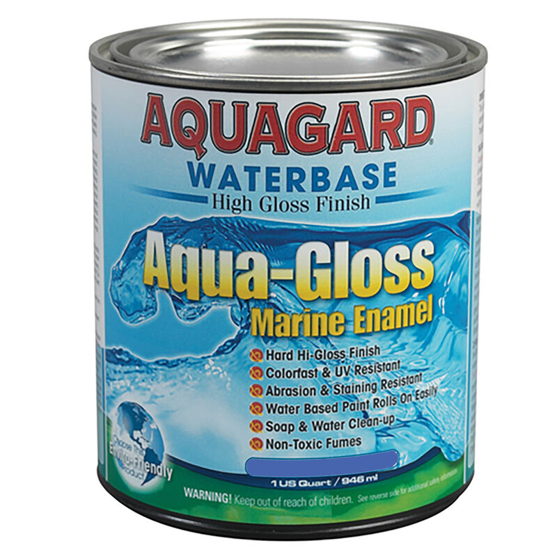 Aquagard Aqua-Gloss Waterbase Enamel, Quart image number 2