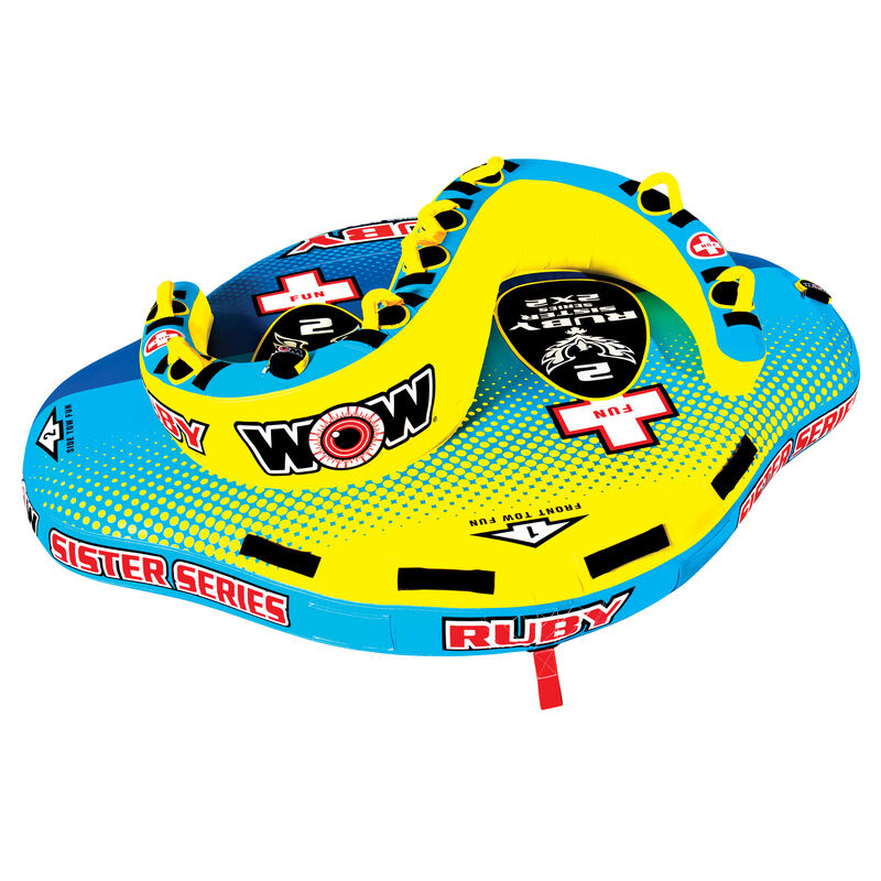 WOW Sister Ruby 2-Person Towable Tube image number 1