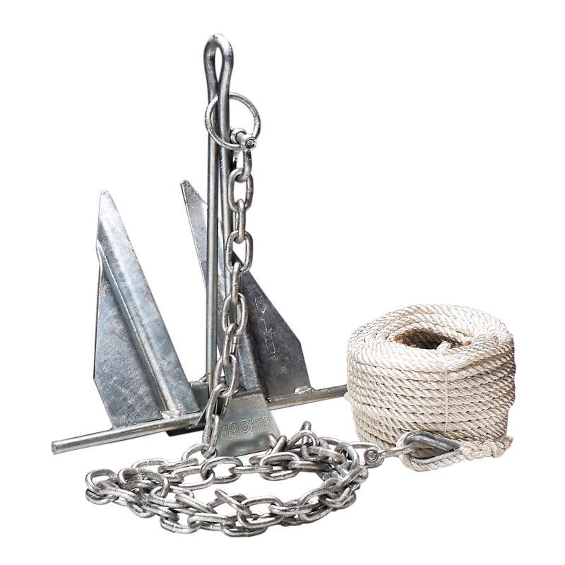 Overton's #7 Slip-Ring Galvanized Anchor Kit image number 1